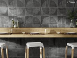 Equipe Ceramicas Ruang Makan Modern Keramik