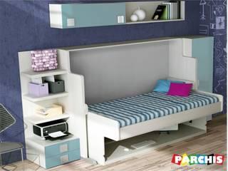 Muebles Parchis. Dormitorios Juveniles. QuartoCamas e cabeceiras Madeira