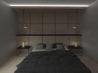 Minimalist bedroom by Kata Design Minimalist
