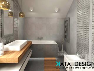 Ванные комнаты в . Автор – Kata Design, Модерн