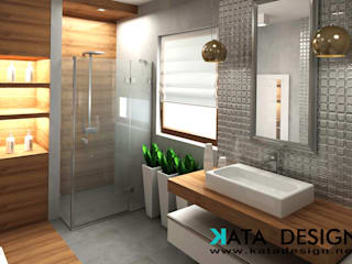 Baños de estilo moderno de Kata Design Moderno