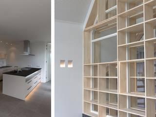 Salones de estilo moderno de GeO Architecten Moderno