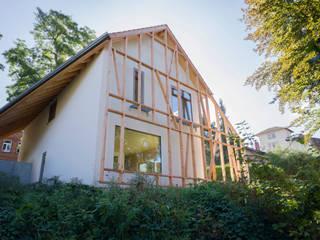 Planungsgruppe Korb GmbH Architekten & Ingenieure Modern houses Wood White