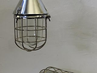 Lux-Est Industrial style gym Aluminium/Zinc Metallic/Silver