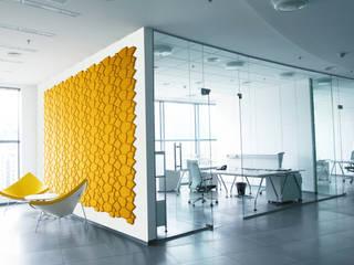 Organic Block BEEHIVE: Escritórios e Espaços de trabalho  por Muratto | Cork Wall Design