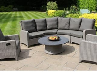 Rattan Sofa Set:   by Garden Centre Shopping UK
