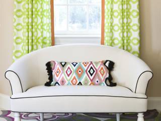 Lorna Gross Interior Design Quartos clássicos Multi colorido