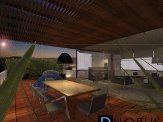 Terrasse de style  par DUOBUS M + L arquitectos
