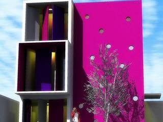 Vivienda Romeros: Casas de estilo minimalista por Factor 44 Arquitectura