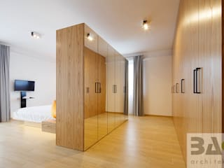 Modern dressing room by BAK Architekci Modern