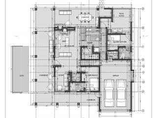 Rumah oleh @tresarquitectos, Klasik