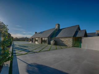 Forty Farm Smarta Varandas, alpendres e terraços minimalistas