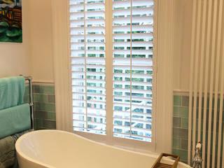 Bathroom Shutters Plantation Shutters Ltd Kamar Mandi Klasik Kayu White