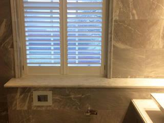 Bathroom Shutters Plantation Shutters Ltd Kamar Mandi Modern Kayu White