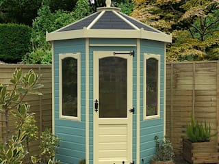 Fort Oakmere Summerhouse - Wooden Painted Summerhouse :   by GBC Group