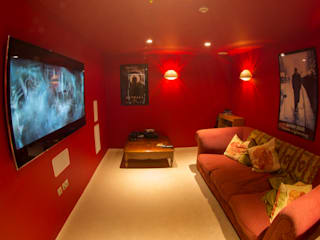 Millbrook House Modern media room by Smarta Modern