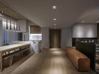 Corridor & hallway by 璧川設計有限公司