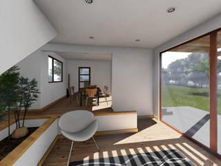 CASA CY Comedores de estilo moderno de EjeSuR Arquitectura Moderno