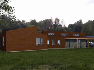 CASA AN Casas de estilo rural de EjeSuR Arquitectura Rural