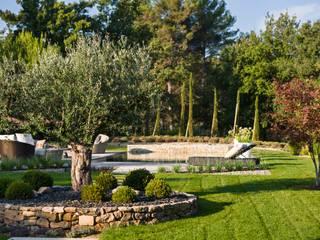 Jardines de estilo moderno de Agence MORVANT & MOINGEON Moderno