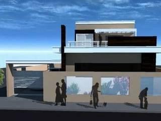 現代房屋設計點子、靈感 & 圖片 根據 Thaís Loureiro 現代風