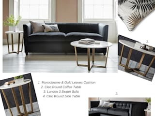 GET THE LOOK Modern living room by Style Our Home Ltd Modern