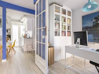 Vivienda Alcorcón: Salones de estilo moderno de Luzestudio Fotografía