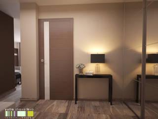 Corridor & hallway by Мастерская интерьера Юлии Шевелевой, Minimalist