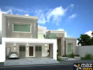Casa G / J Casas modernas de Mazpro Arquitectura Moderno