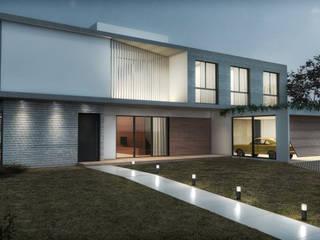 Casas de estilo  de PETERS Studio de Arquitetura, Minimalista