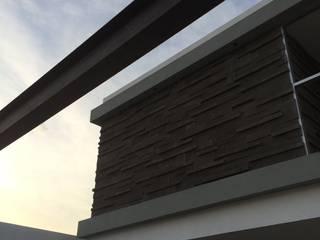 CASA FC244: Casas de estilo minimalista por arqui I zero  arquitectos