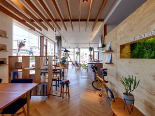 クリエ カフェ&キッチン(cRié cafe&kitchen): 青木建築設計事務所が手掛けた商業空間です。,