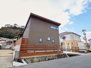 浦田の家 モダンな 家 の 青木建築設計事務所 モダン