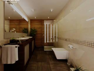 BAÑO PRINCIPAL: Baños de estilo  por RM ARQUITECTURA