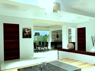 CouturierStudio Modern living room