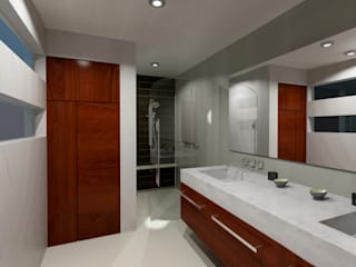 Modern bathroom by CouturierStudio Modern