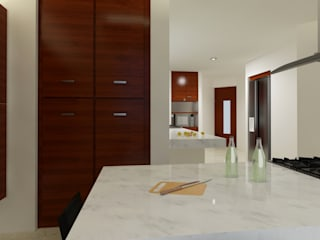 CouturierStudio Modern kitchen