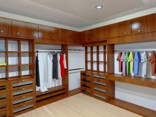 Renders Interiores: Vestidores y closets de estilo  por CouturierStudio
