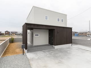 コンパクトで回遊性のある家: KAWAZOE-ARCHITECTSが手掛けた一戸建て住宅です。,ミニマル