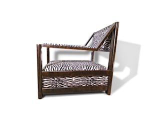 Oxydus Negrus Armchair de Natural Craft - Handmade Furniture Moderno