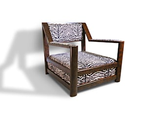 Oxydus Negrus Armchair Natural Craft - Handmade Furniture Sala de estarBancos e cadeiras Madeira maciça