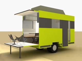 Yates y jets de estilo minimalista de A2 arquitectura interior Minimalista