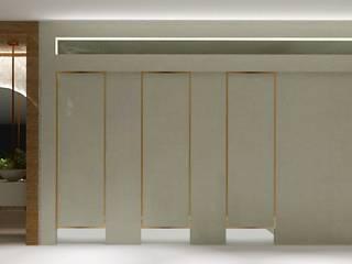 Lavabo Público - Concurso Banheiros modernos por Letícia Gonçalves Arquitetura Moderno