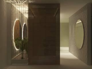 Lavabo Público - Concurso: Banheiros  por Letícia Gonçalves Arquitetura,Moderno
