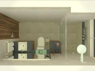Reforma de Banheiros Banheiros modernos por Letícia Gonçalves Arquitetura Moderno