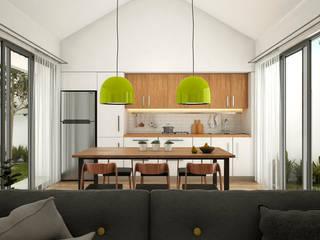 Modern dining room by FERAARQUITECTOS Modern