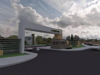 Carelhue: Jardines de estilo  por Gastón Blanco Arquitecto,Moderno