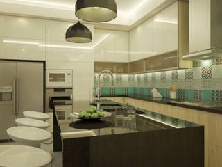 Diseño de Cocina San Miguel : Cocinas de estilo  por Spacio5