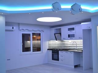 Fatma hanımın mütevazi evine coşku kattık Modern Mutfak Damla Yapı Teknik Modern