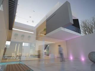 Дома в стиле минимализм от 21arquitectos Минимализм